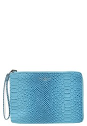 Paul's Boutique Fleur Clutch Teal Silver Blue