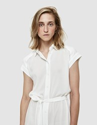 Farrow Lilly Belted Dress Ivory