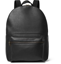 Tomas Maier Leather Backpack Black