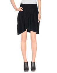 Noa Noa Skirts Knee Length Skirts Women Black