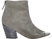 Marsell Women's Back Zip Ankle Boots Light Grey