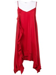 P.A.R.O.S.H. Potere Dress Red