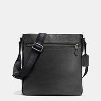 Coach Metropolitan Crossbody In Pebble Leather Black Antique Nickel Black