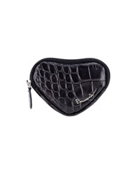 Braccialini Small Leather Goods Coin Purses Black