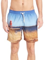Barbour Beacon Swim Trunks Blue