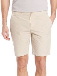 Burberry Solid Chino Shorts Cream