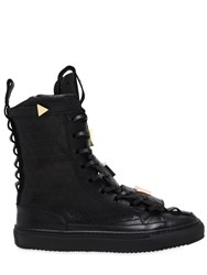 K1x X Patrick Mohr Limited Edition Leather Sneaker Boots