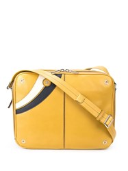 Bally Scratch Reporters Bag Yellow