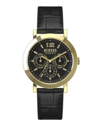 Versus By Versace 37Mm Manhasset Men's Chronograph Watch Black