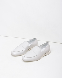Jil Sander Penny Loafer White