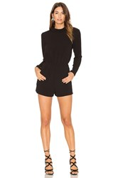 Bishop Young Long Sleeve Romper Black