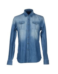 Gazzarrini Denim Shirts Blue