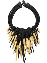 Monies Short Necklace Black