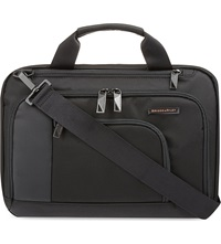 Briggs And Riley Verb Contact Small Briefcase Black