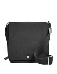 Fossil Nordburg Small Nylon Messenger Bag Black