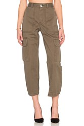 Marc By Marc Jacobs Cotton Twill Cargo Pant Army