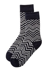 Vanishing Elephant Zigzag Socks Multi