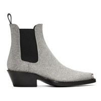 Calvin Klein 205W39nyc Silver Western Claire Boots