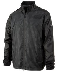 Greg Norman For Tasso Elba Men's Mixed Media Hydro Jacket Only At Macy's Pirate Black