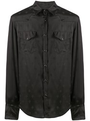 Laneus Star Jacquard Long Sleeved Shirt 60