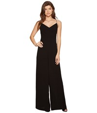 1.State Lace Up Back Wide Leg Jumpsuit Rich Black Women's Jumpsuit And Rompers One Piece