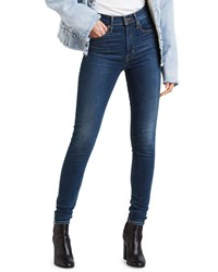 Levi's Premium Mile High Supper Skinny Ankle Jeans Blue