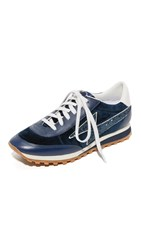 Marc Jacobs Astor Lightning Bolt Sneakers Navy
