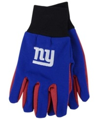Forever Collectibles New York Giants Palm Gloves Blue