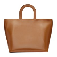 Building Block Brown Mini Stencil Tote