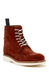 Oliver Sweeney Walberswick Suede Boot Brown