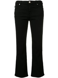 Love Moschino Cropped Jeans Black
