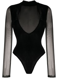 Alchemy Sheer Fitted Bodysuit 60