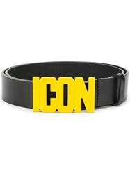 Dsquared2 Icon Buckle Belt Black