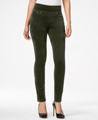 Jag Nora Pull On Corduroy Skinny Jeans Colored Wash Only At Macy's Green Pine