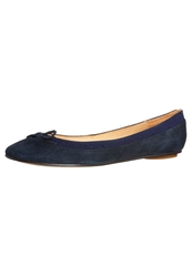 Buffalo Ballet Pumps Navy Mottled Blue