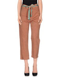 Jucca Trousers Casual Trousers Women Brown