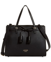 Guess Leila Small Girlfriend Satchel Black