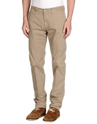 Brooksfield Royal Blue Casual Pants Khaki