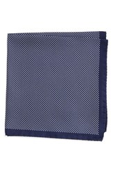 Men's Eton Dot Silk Pocket Square