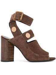 Pierre Hardy Penny Sandals Brown