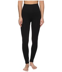 Spanx Seamless Print Leggings Black Women's Clothing