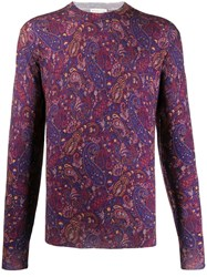 Etro Relaxed Fit Paisley Pullover 60
