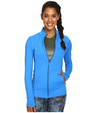 Lole Essential Up Cardigan Electric Blue Women's Workout