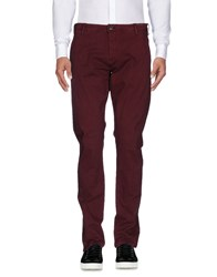 Selected Homme Casual Pants Maroon