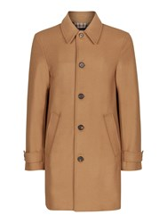 Aquascutum London Men's Logan Coat Camel