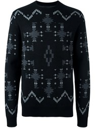 Marcelo Burlon County Of Milan 'Puntiagudo' Jumper Black