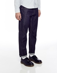 Cheap Monday Linear Jeans Blue In Loose Tapered Fit