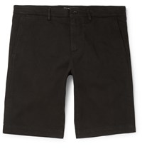 Dolce And Gabbana Stretch Cotton Shorts Black