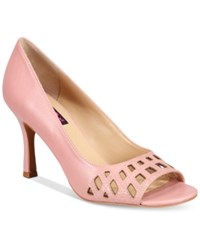 Mojo Moxy Charli Peep Toe Pumps Women's Shoes Pink