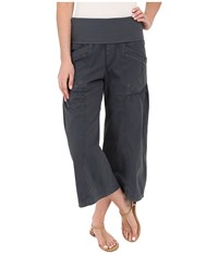 Xcvi Culver Crop Charcoal Women's Casual Pants Gray